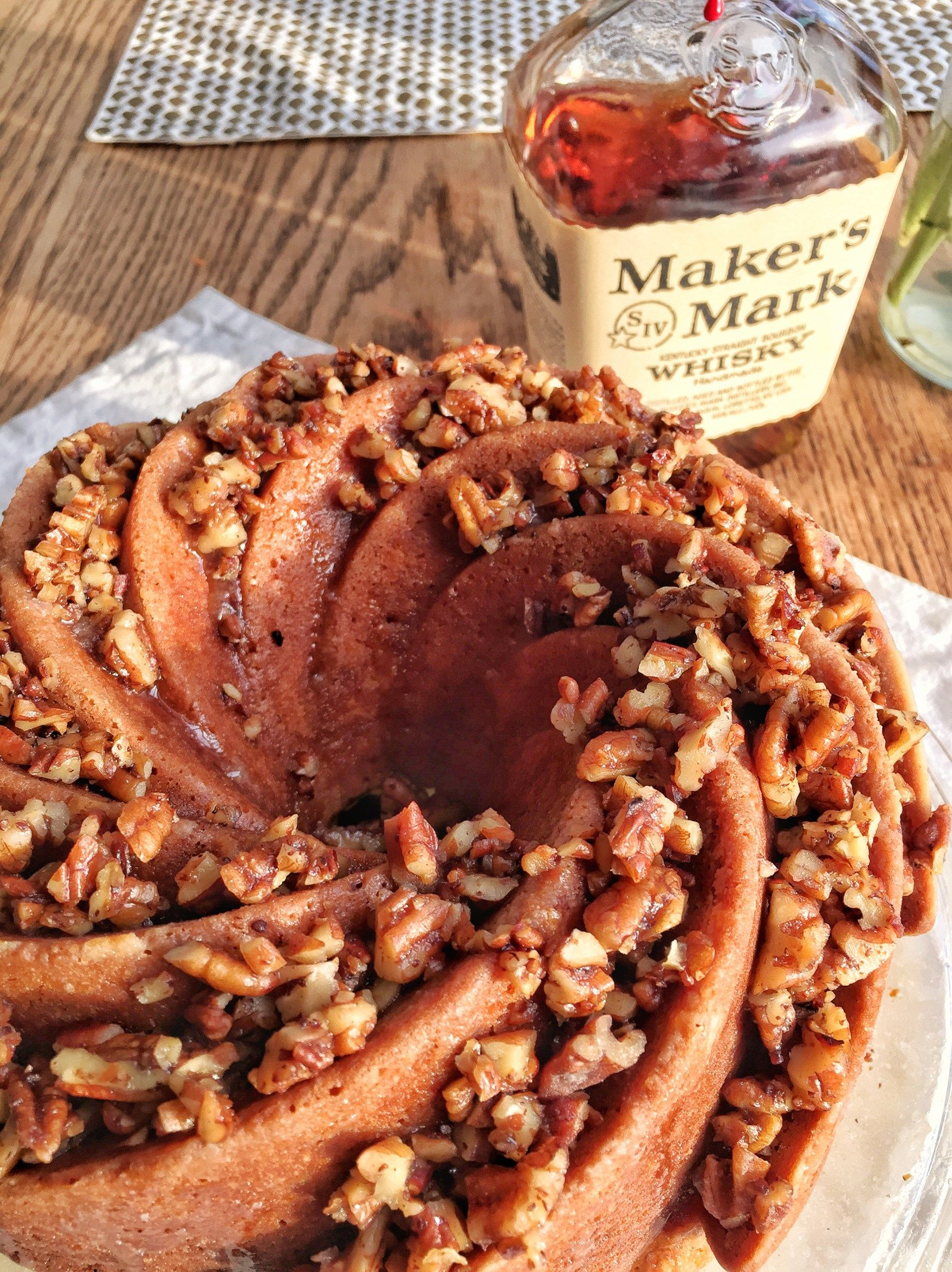 Bourbon bundt cake dessert dishes bundt cake cake