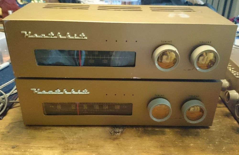 Vintage Heathkit AM and FM Tuners FM-3 and BC-1