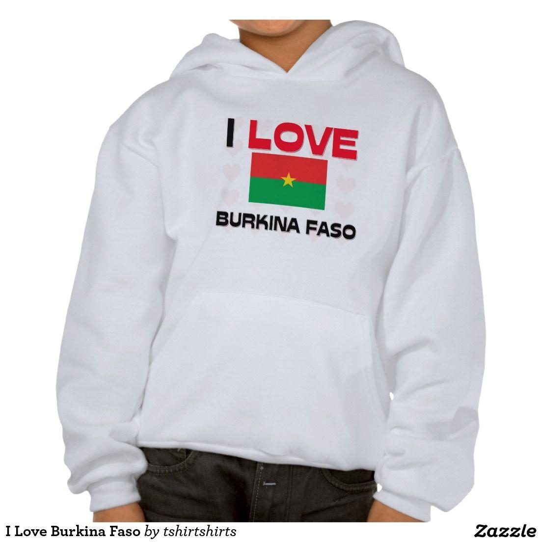 I Love Burkina Faso Sweatshirt