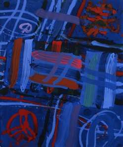 Albert Irvin - abstract print