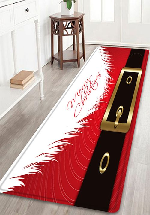 Christmas Santa Costume Pattern Indoor Outdoor Area Rug Bath - Quality bathroom rugs for bathroom decorating ideas