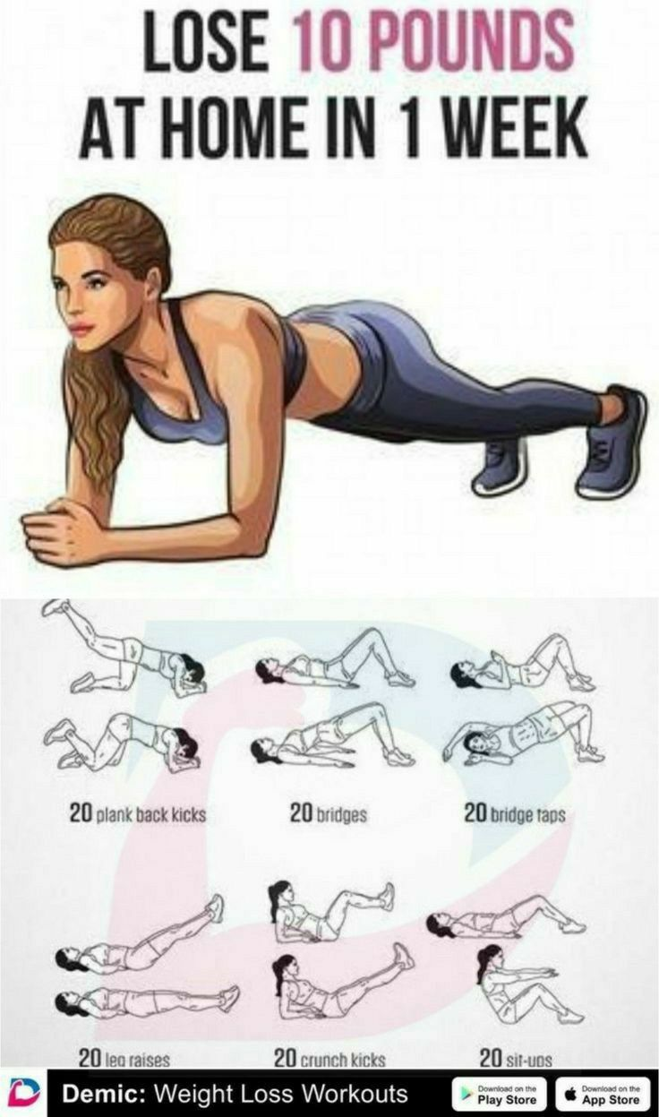 How to Lose 10 Pounds quickly at Home in one Week -   17 workouts for flat stomach in 1 week ideas