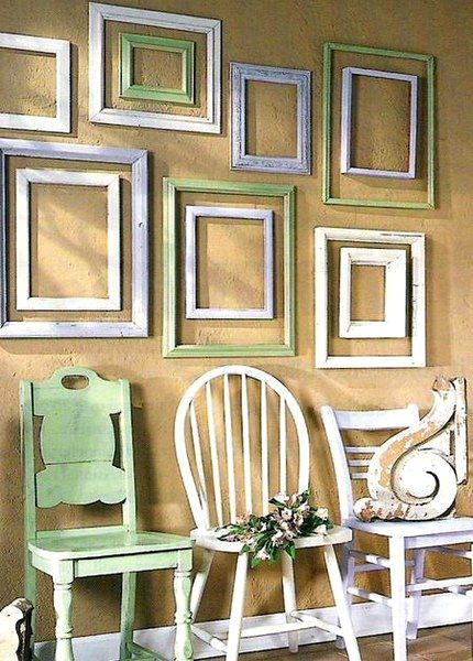 layered frames | Styling | Pinterest | Layering, Wall tables and ...