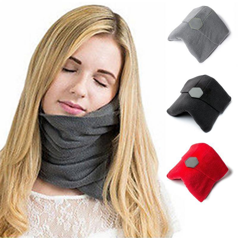 travel pillow scarf wrap around soft