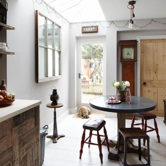 Rustic And Quirky Kitchen Diner | Eclectic Decorating Ideas | Ideal Home |  Housetohome.