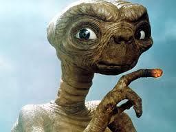everyone's favourite alien, ET.