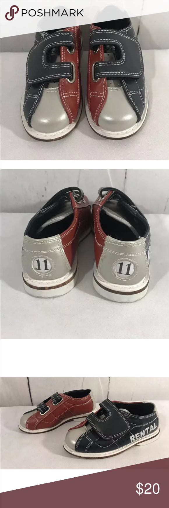 cadd598806ea Classic Rental Hook  amp  Loop Bowling Kids shoes 11 Classic Kids Rental  Product 309007 Blue