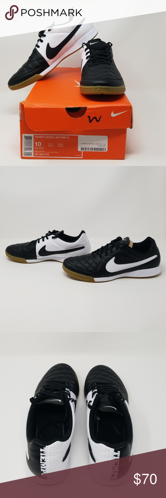 086918a2395 Men s Nike Tiempo Genio Leather IC Brand new in original box. Box slightly  damaged. Items 400   401 Nike Shoes Athletic Shoes