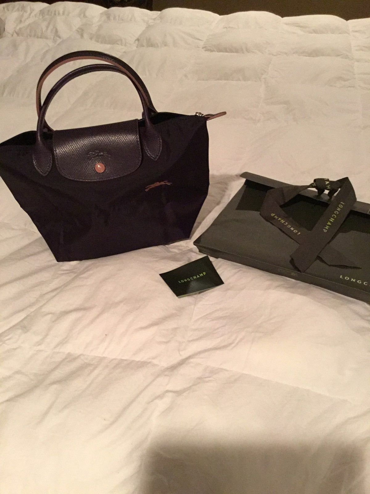 Color is Bilberry /silver New with gift bag from Paris. Received ...