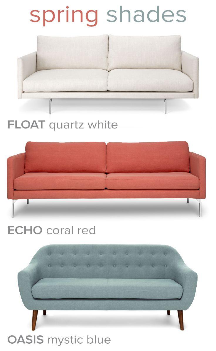 Spring Pastels by Bryght  Pastel furniture, Sofa design