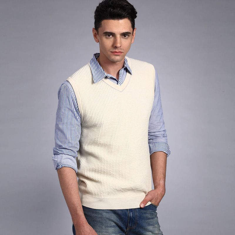 VANCL-Tipped-Collar-Wool-Sweater-Vest-MEN-Beige_6612572.bak.jpg ...