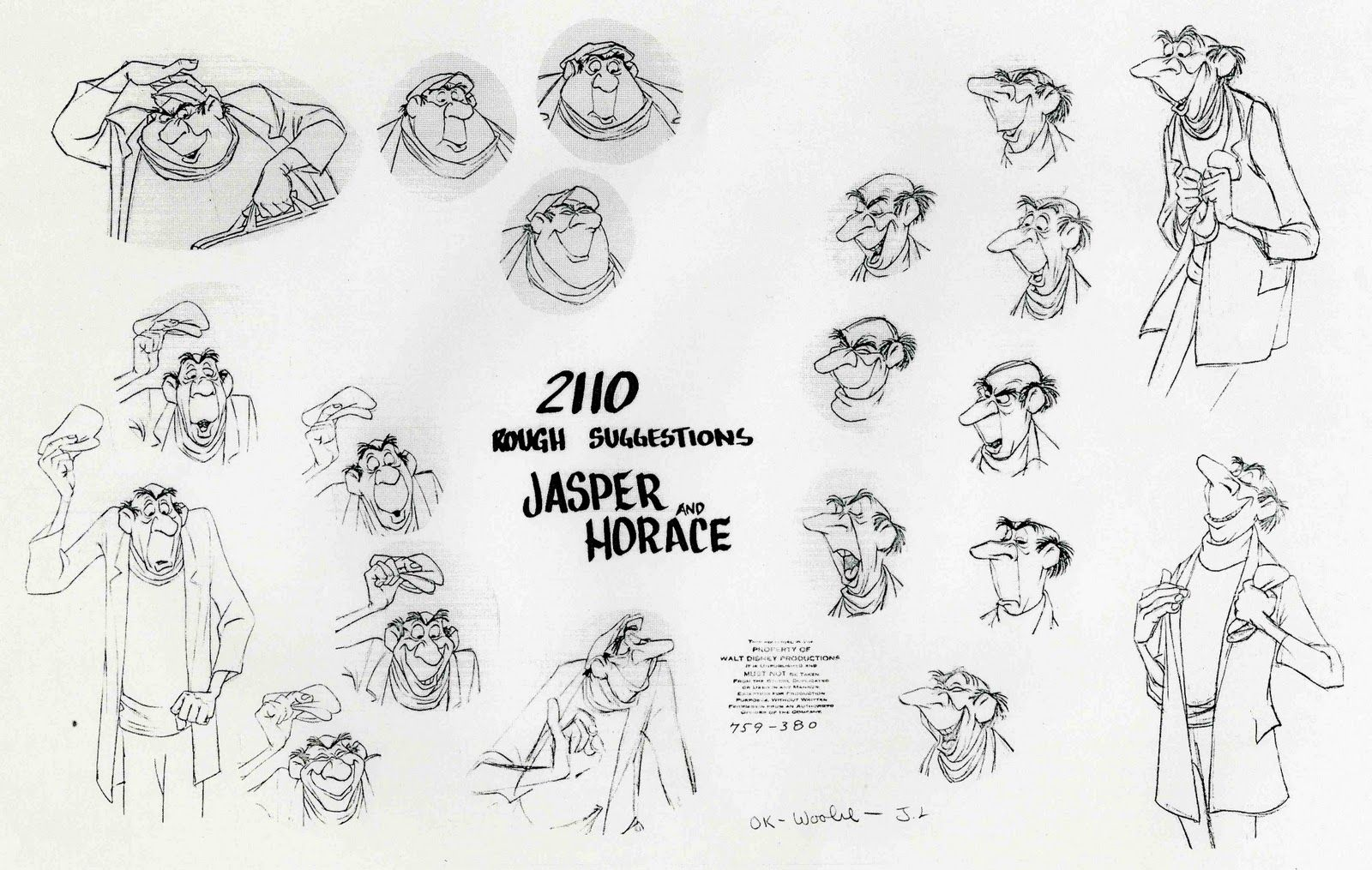 Disney Character Design Sheets : Disney facial design often times when two characters