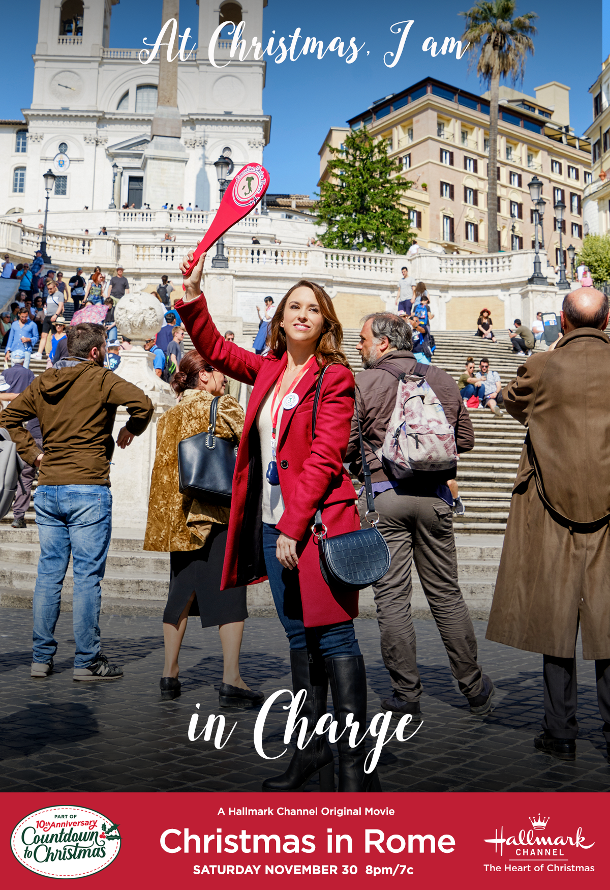 Rome Christmas Events 2020 Do you take charge like Amanda (Lacey Chabert) when friends and