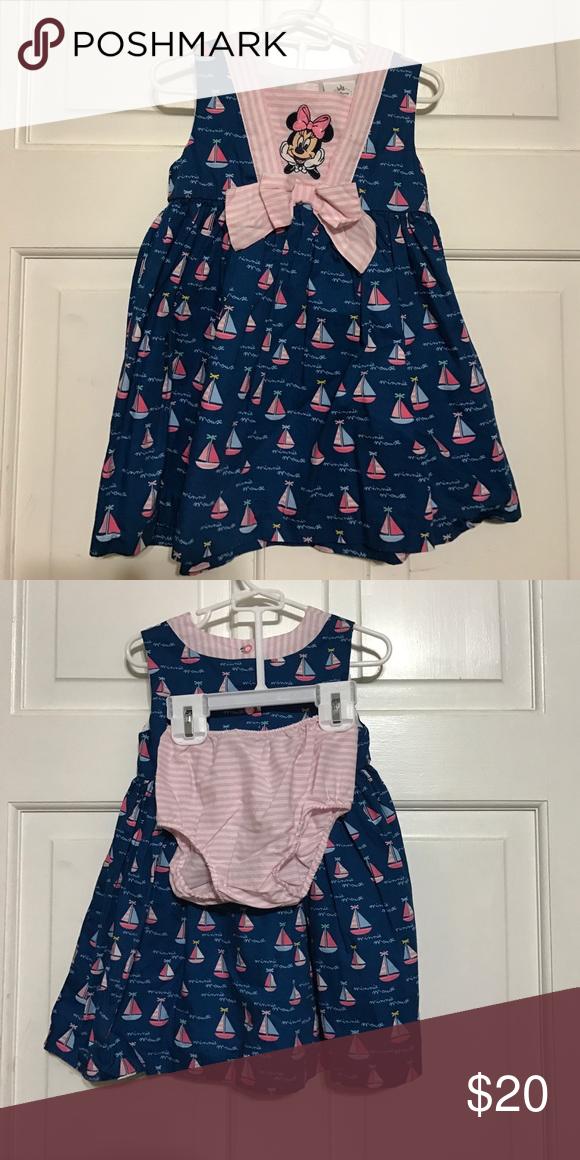 Disney dress. Brand new. Never used  Minnie Mouse sailor dress. Disney Dresses Casual
