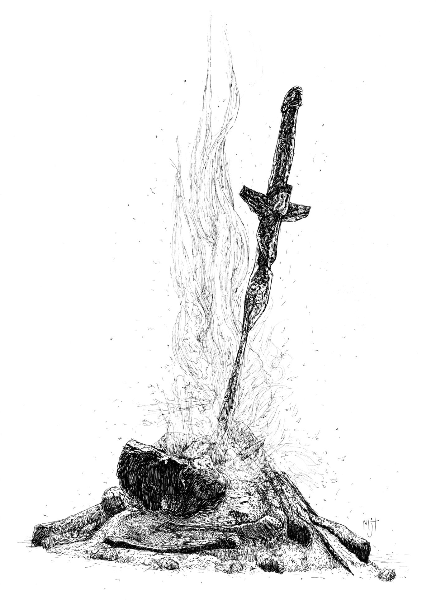 Znalezione Obrazy Dla Zapytania Bonfire Dark Souls Png Dark Souls Tattoo Ideias De Tatuagens Arte Dark Souls