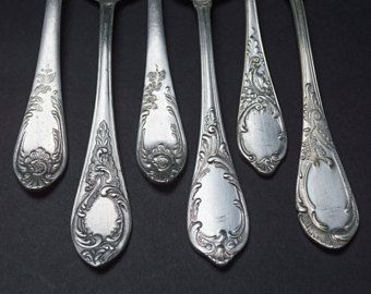 silverplate with Making crafts flatware vintage
