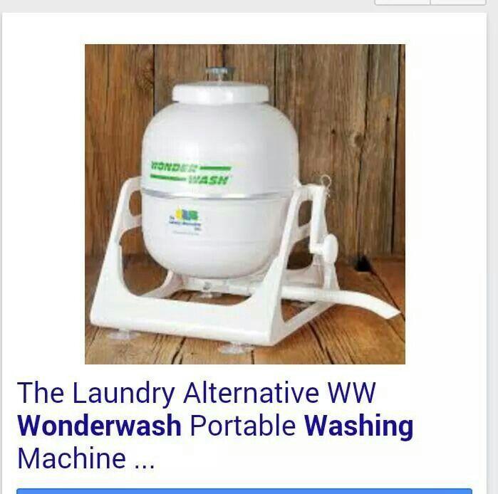 Portable clothes washer (Amazon)