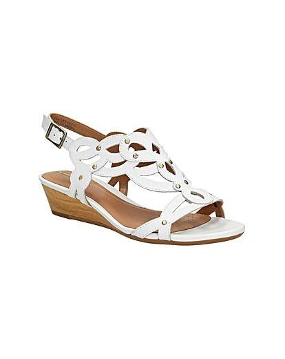 eb49335bfe3a7 Clarks Playful Fox - Metallic Combi - Womens Casual Sandals