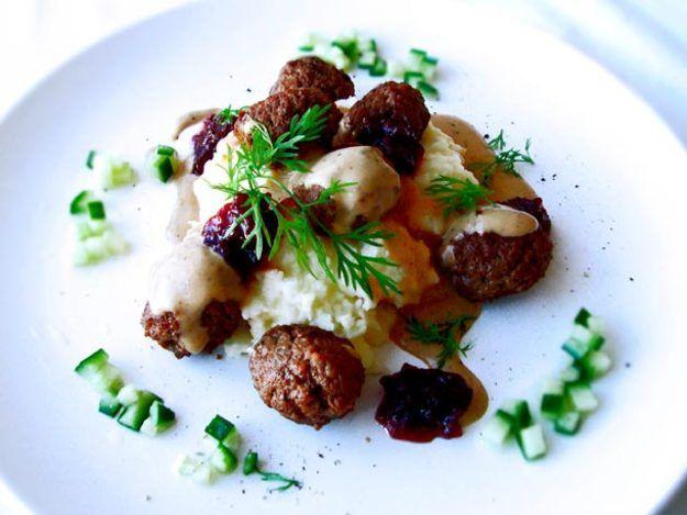 Seriously Scandinavian Swedish Meatballs Recipe Recipe Swedish Meatball Recipes Recipes Swedish Meatballs