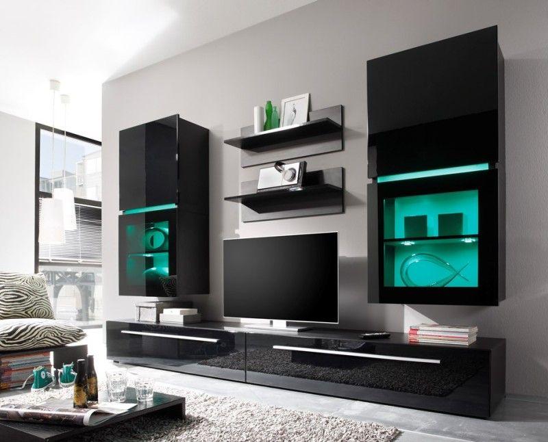 ROLLER Wohnwand QUBIX - Möbel  Wohnen Online Shop Wohnzimmer
