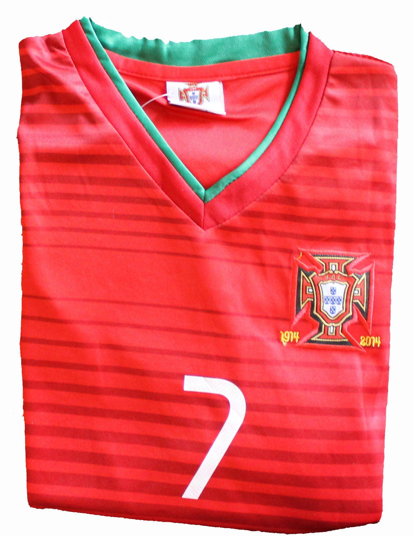 the latest b2fba db4a4 Amazon.com : 2014 Cristiano Ronaldo Home Portugal Football ...