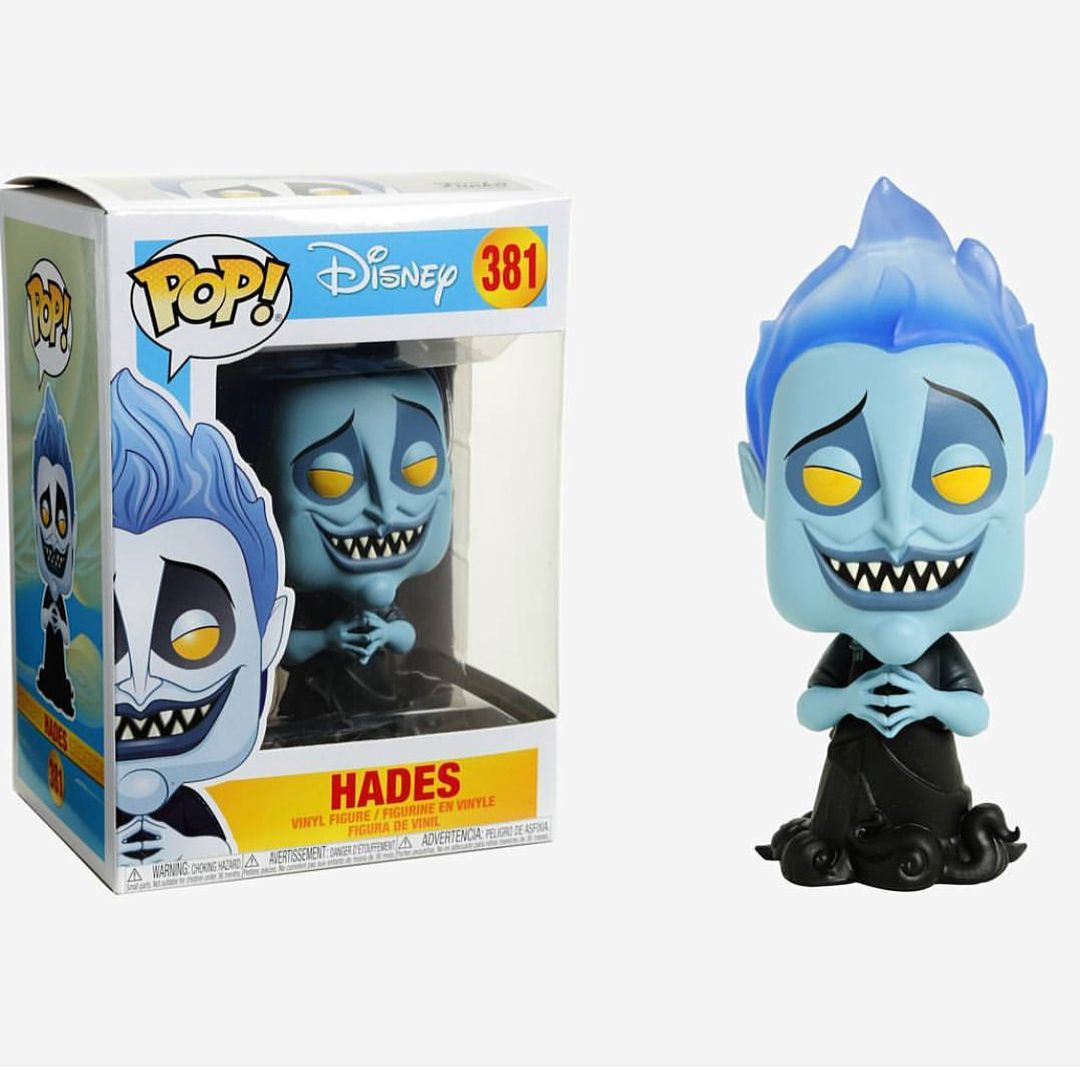 Hades Glow In The Dark Disney Funko POP Vinyl