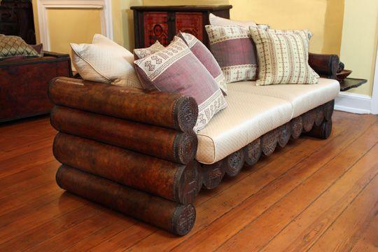 Bale Chochos Ethiopian Furniture Afrocentric Decor Homemade Sofa Sofa Handmade