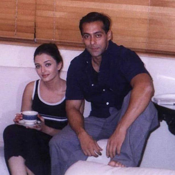 An Old Photo Of Salman Khan And Aishwarya Rai Bachchan Has Surfaced On The Internet And Netizens Cannot Salman Khan Aishwarya Rai Salman Khan Salman Khan Photo