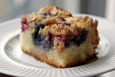 Need recipes for all my starter! Berry Sourdough Coffee Cake