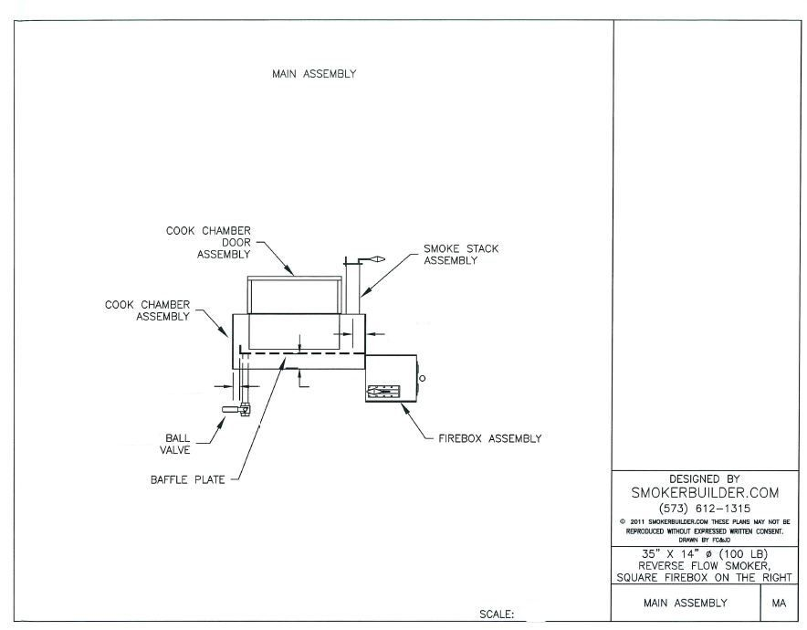 Image gallery offset bbq smoker plans for Deep pit bbq construction
