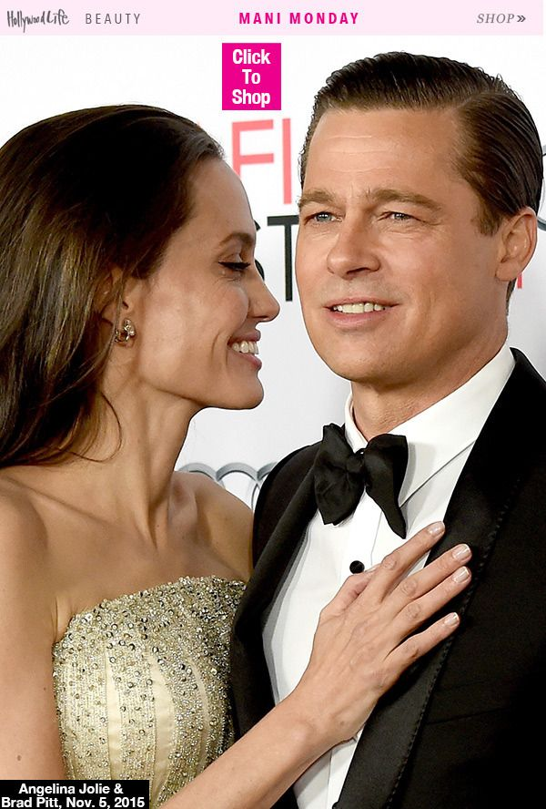 Angelina Jolie\'s Classic, Nude Mani — Get Her Exact Look | Press ...