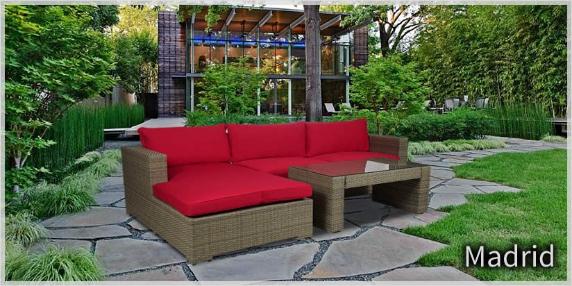 DreamCoast Madrid Outdoor Patio Furniture Sold At Trees N