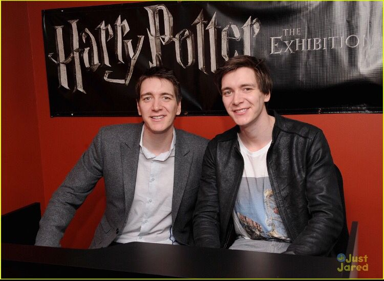 Pin By Andrea Michalkova On Harry Potter Fred And George Weasley Oliver Phelps Phelps Twins