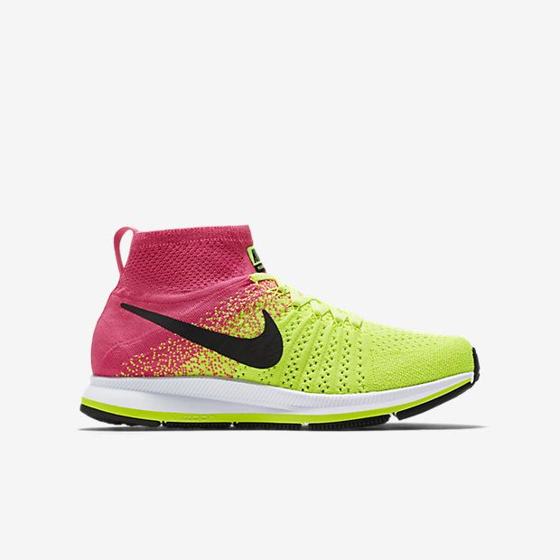 Nike Air Zoom Pegasus All Out Flyknit ULTD (3-6) Older Kids'
