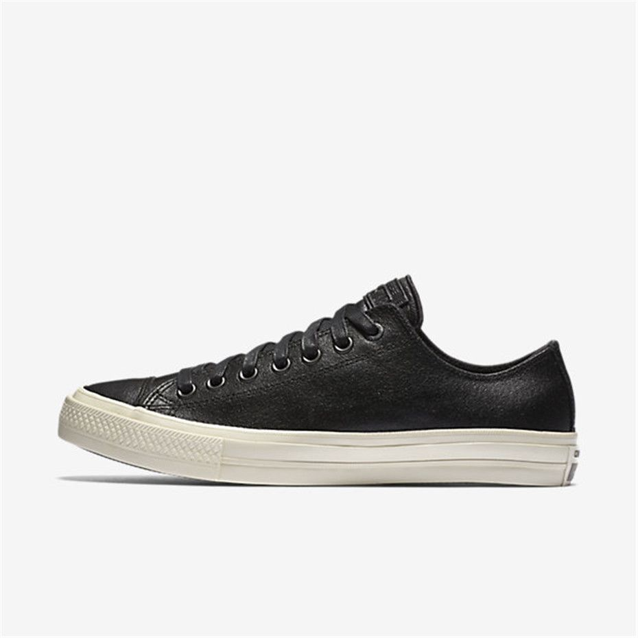 NIKE Converse x John Varvatos Chuck II Coated Leather Low Top (Black). Nike ConverseCheap  Converse ShoesChuck IiNike MenAdidas WomenSports ...