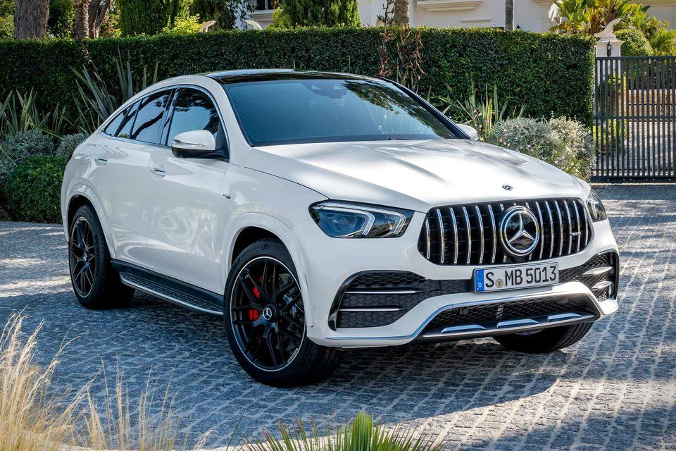 2021 Mercedes Amg Gle 53 Coupe Covering Voiture Voiture Mercedes