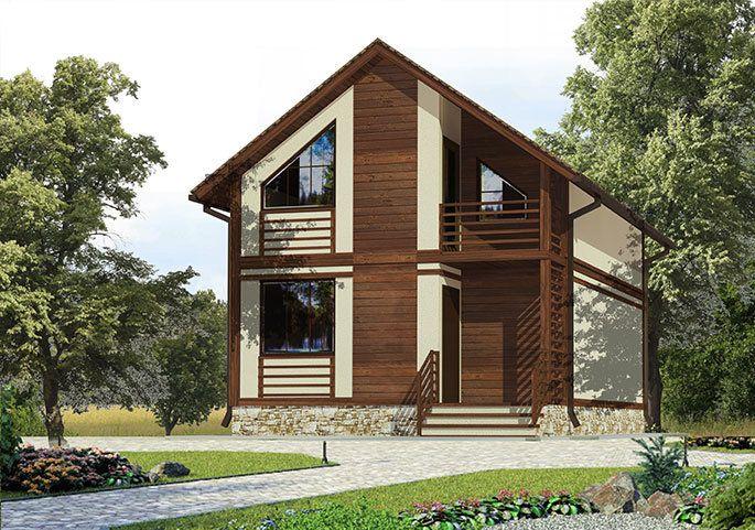 Frame House - Строительство каркасных домов в СПб