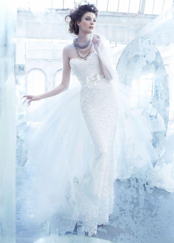 Os presentamos la elegante colección de vestidos de novia de la ...