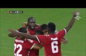 Cuplikan Gol Manchester United vs Manchester City 2-0