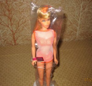 1967 Vintage COLOR Twist N Turn Barbie Doll Commercial HQ #lightashblonde 1967 Mod TNT Twist N Turn Barbie 1162 - Sun Kissed Light Ash Blonde Hair - Real (rooted) Eyelashes with Bendable Legs - $1.50 Trade In (Box) Program Doll (many people traded their vintage Barbies - ponytail and bubble cut for a mod Barbie) - Mattel - Boxed / Baggie #lightashblonde