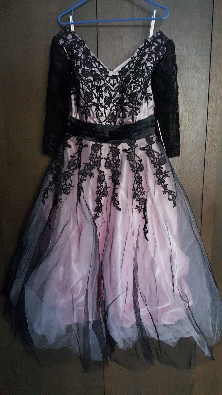 Pink cocktail dress for wedding  JJs House Party Dress Cocktail Dress Wedding Guest PinkBlack