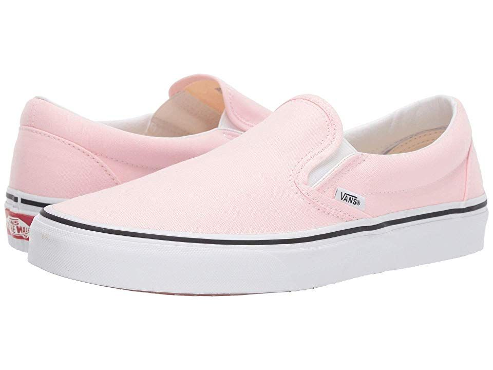 Pink slip on vans, Vans shoes women