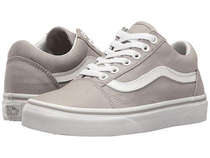Vans Old Skool Leather Sneaker VN0A38G1QD5 Grey #Sneakers