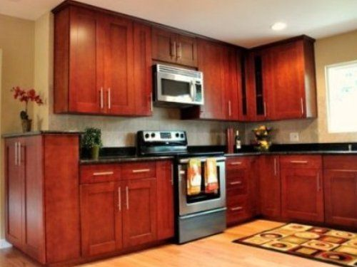 Kitchen Paint Ideas For Cherry Cabinets