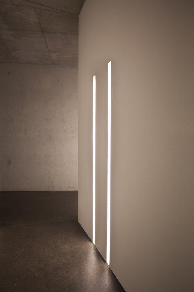 Hidden Lights Effect Light Fixtures False Ceiling Plasterboard Corridor