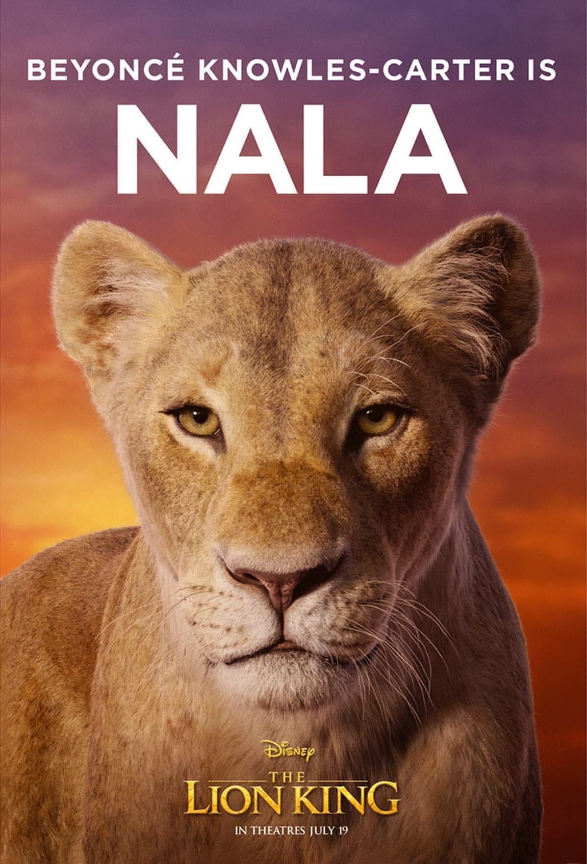 Beyonce As Nala Thelionking Lion King Poster