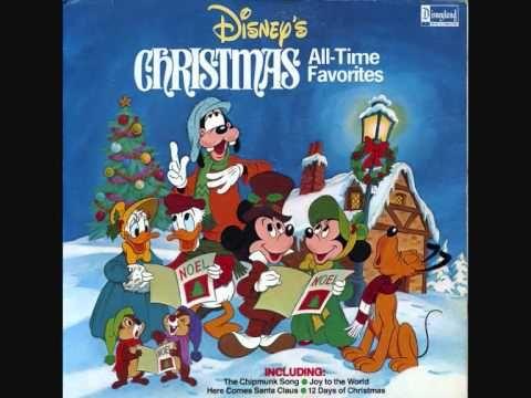 The Twelve Days Of Christmas Disney Christmas Songs Disney Merry Christmas Walt Disney Cartoons Disney Christmas Songs