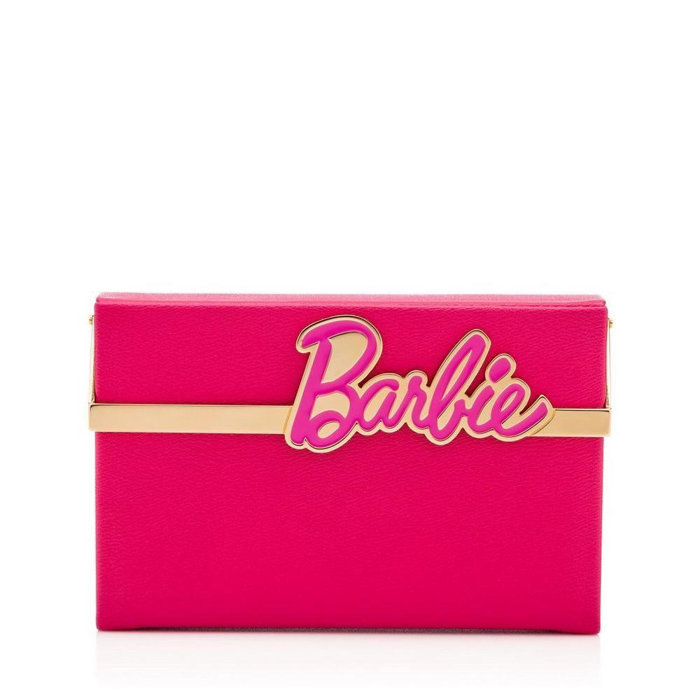 Barbie Vanina clutch - Pink & Purple Charlotte Olympia wPswyg