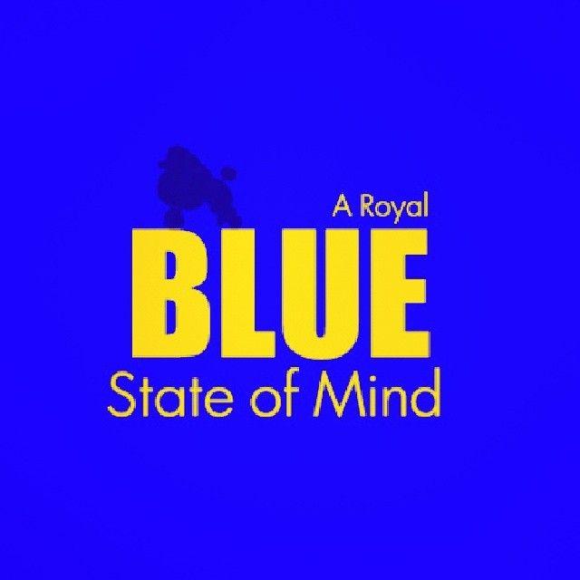Kappa Delta Rho Expandable Briefcase Royal Blue//Black