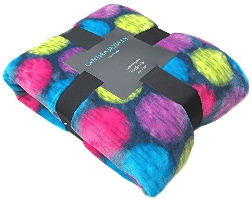 all seasons micro fleece throw blanket cynthia rowley large polka dot plush couch throw blanket oversized - Fleece Throws